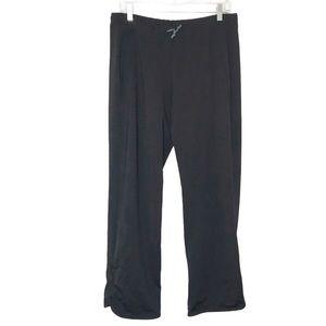 Title nine black pull on pants sz Large